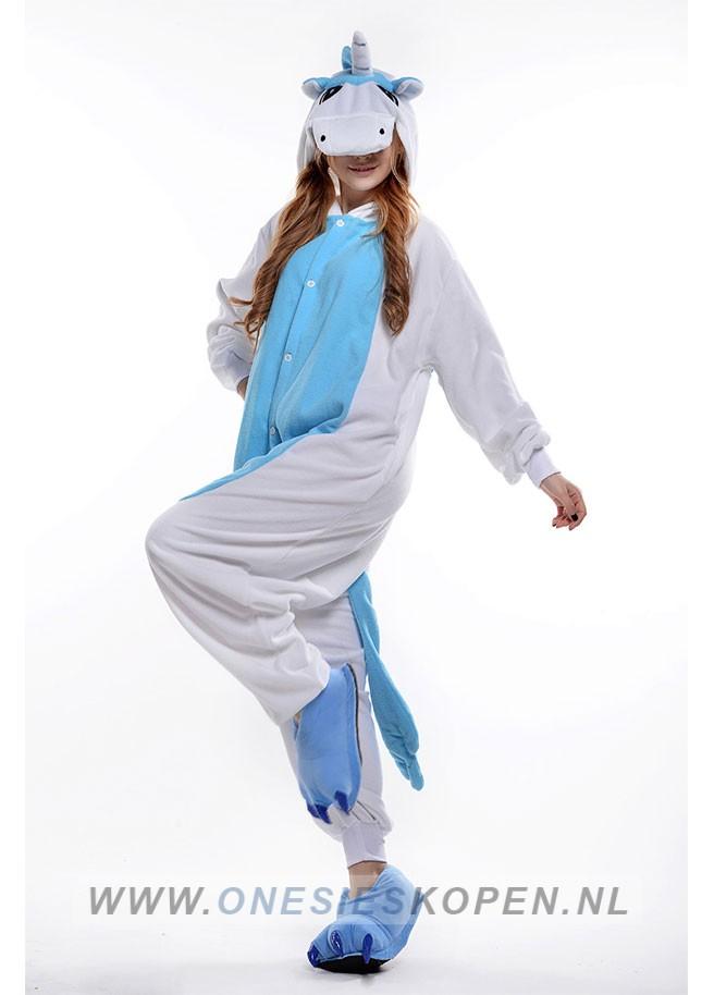 Dierenjumpsuit Eenhoorn blauw - Jumpsuit kopen.nl dc729190c
