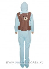 Onesie-Fluffy-Bear-Blue-achter
