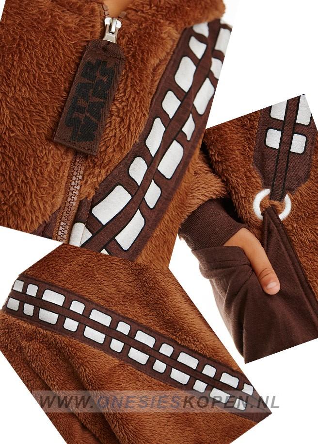 4a402011726 Officiële STAR WARS Chewbacca jumpsuit kids - Jumpsuit kopen.nl