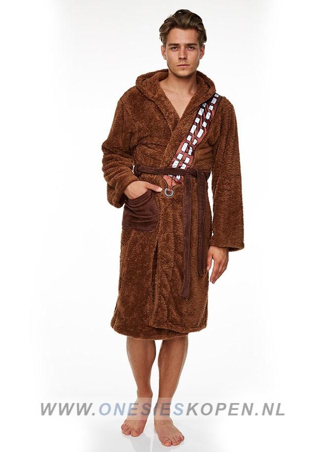 d441266d93d Officiële STAR WARS Chewbacca badjas - Jumpsuit kopen.nl